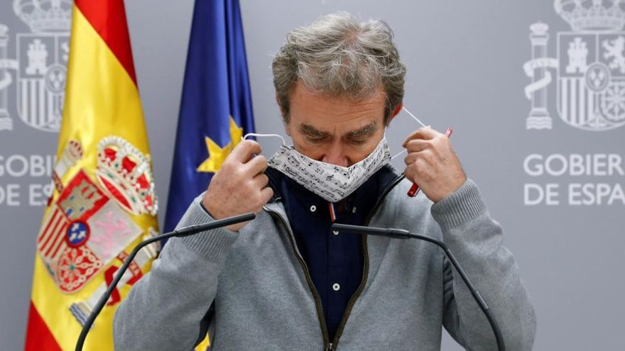 """Simón dice que la situación en España está """"mal"""""""