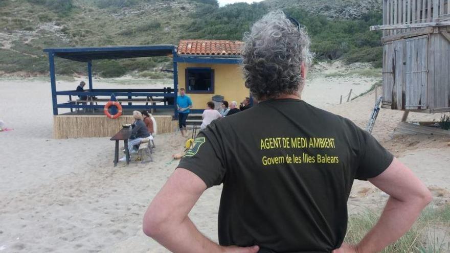 Küstenbehörde ordnet Rückbau von Strandbar an der Cala Torta an