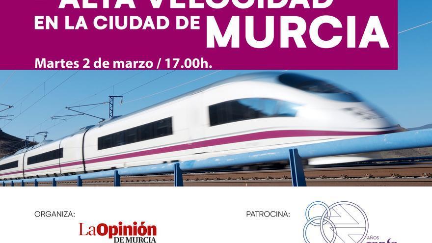 Así ha sido la webinar dedicada a la Alta Velocidad en Murcia
