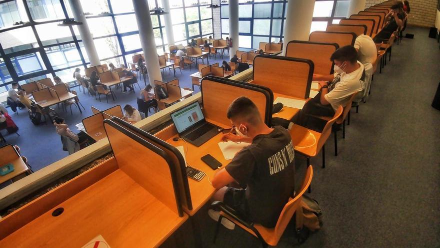 Estudiantes en la UJI
