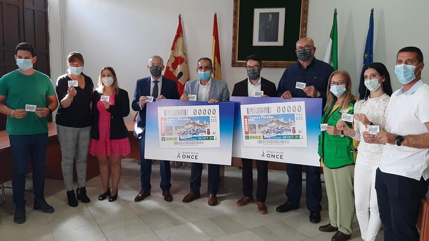 La ONCE dedica el cupón del 24 de octubre a los vecinos de Álora