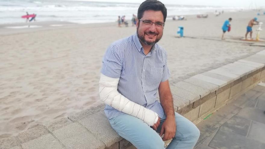 Ignacio Blanco: regreso a la primera línea con vocación de unir a la izquierda