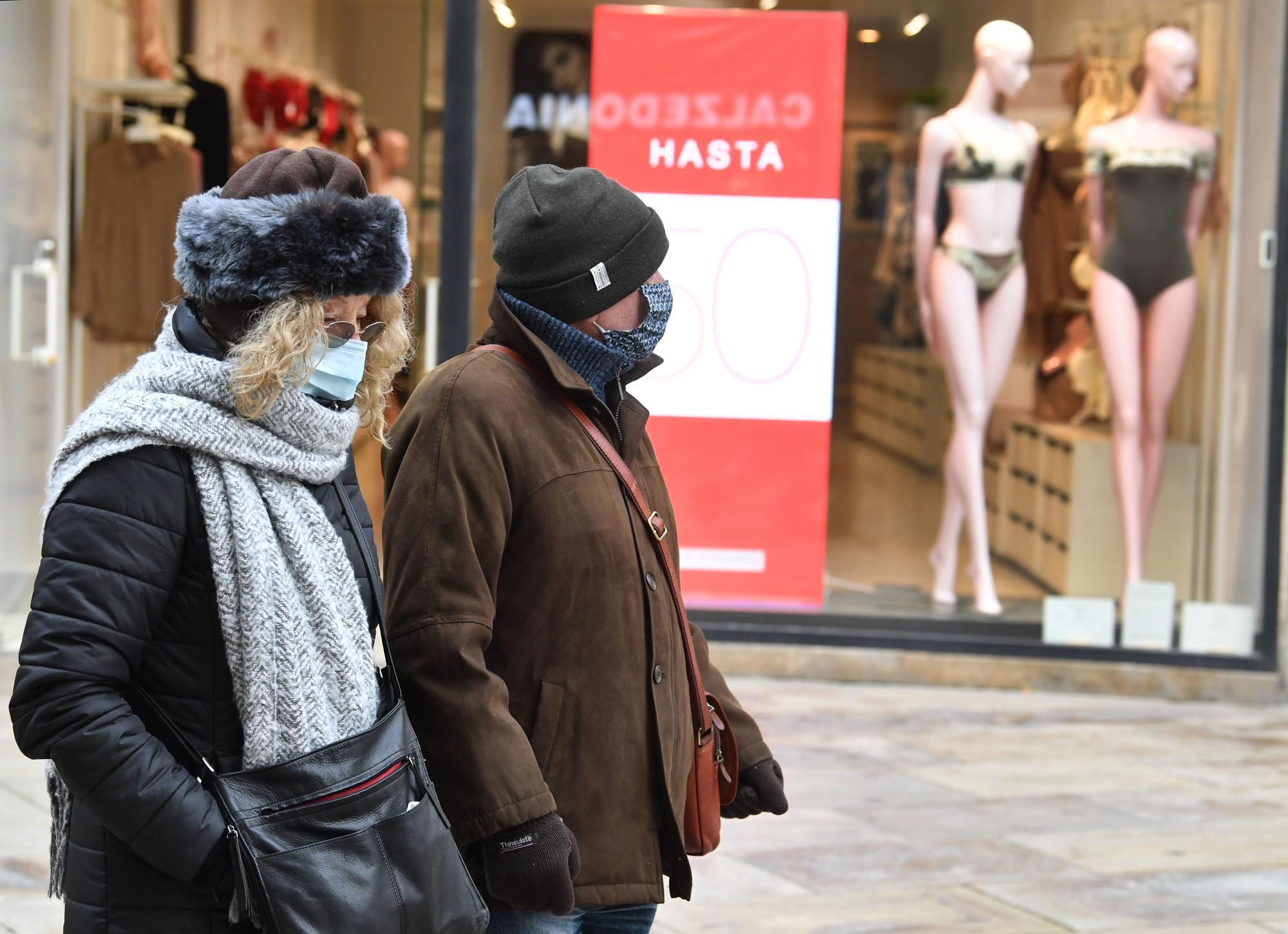 Días de sol y frío en A Coruña