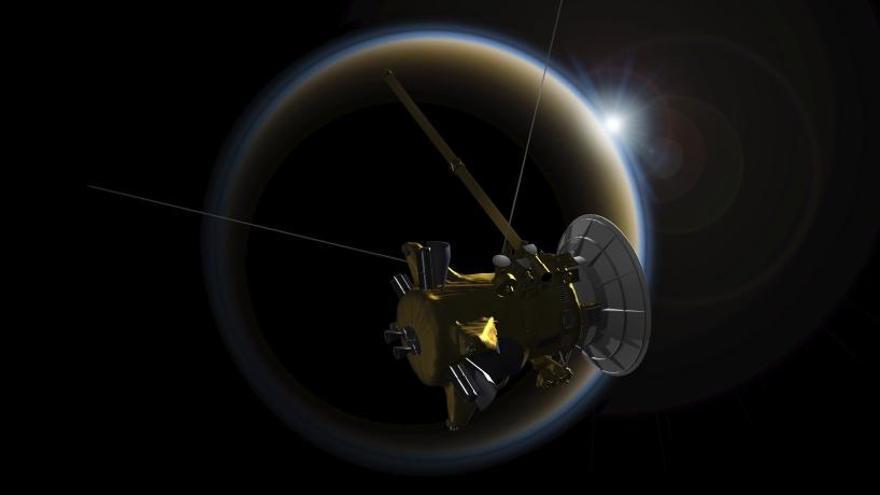 La sonda Cassini comienza la cuenta atrás hacia su final