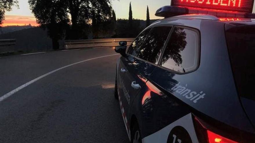 El conductor d'un turisme ha mort en un xoc frontal a Begur