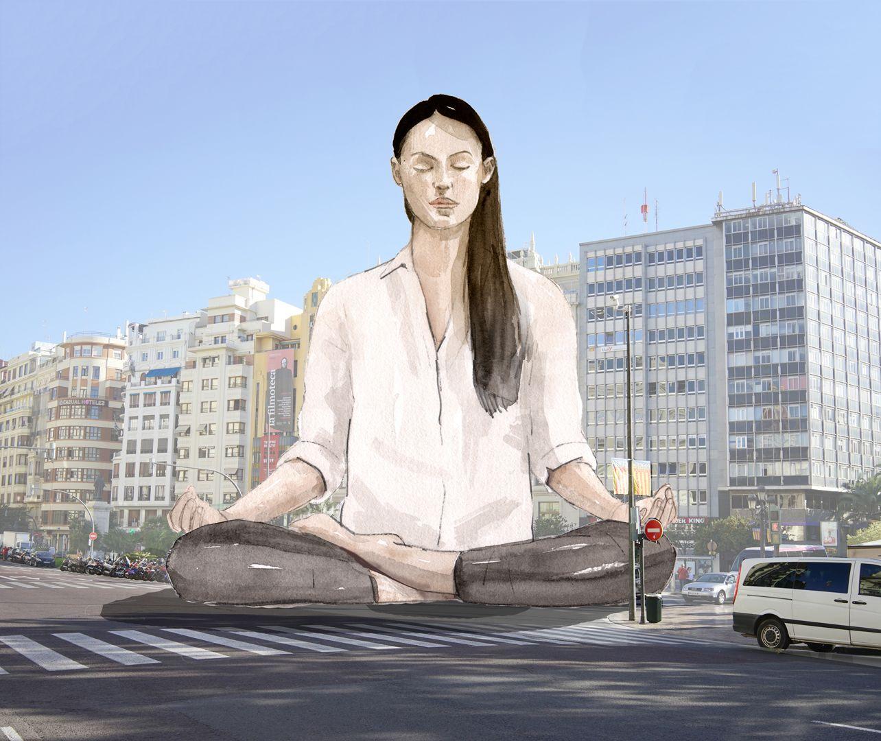 Fallas 2021: La historia gráfica de La Meditadora