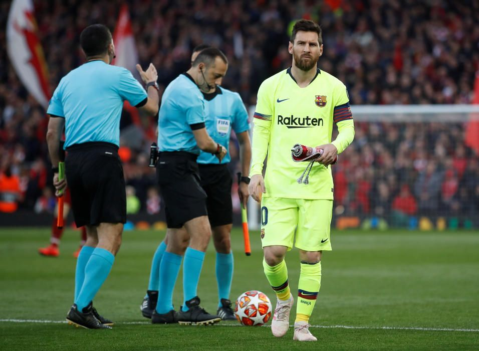El Liverpool - Barça, en imatges