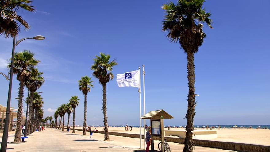 Las playas de Alboraia y sus Tourist Info superan los requisitos de la Q de calidad