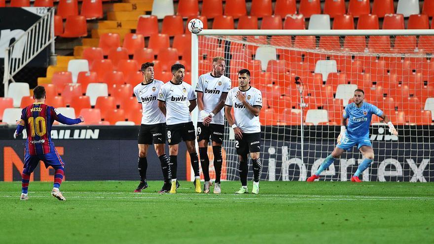 El Valencia CF resucita tarde