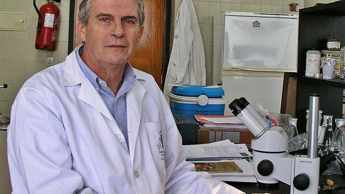 Leopoldo O' Shanahan Roca, biólogo y uno de  los grandes investigadores del mar grancanario