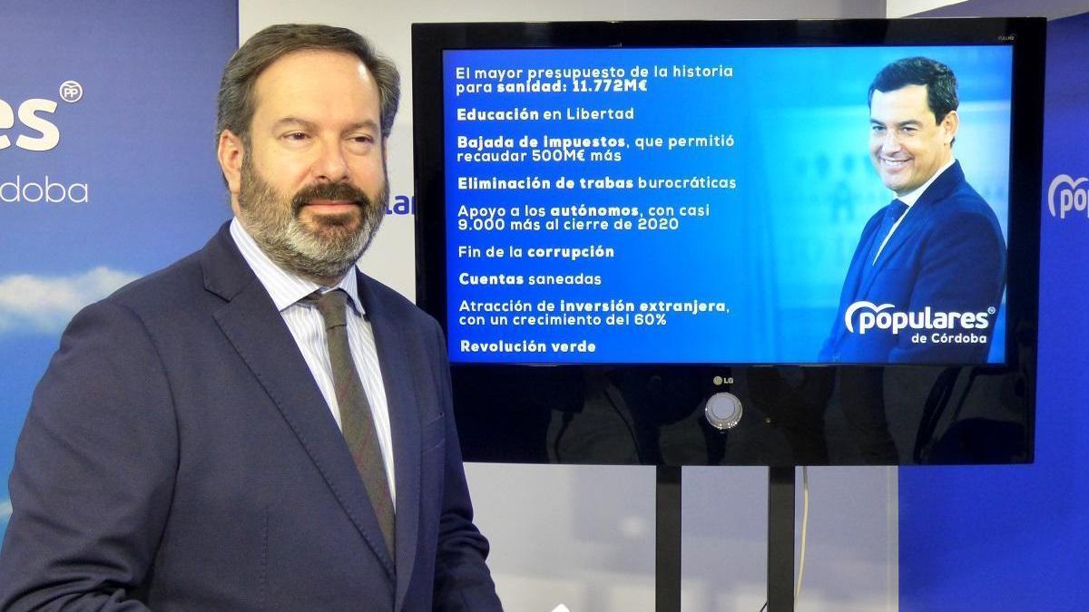"""Molina: """"Tenemos el mejor gobierno posible para proteger a los andaluces e impulsar la recuperación"""""""