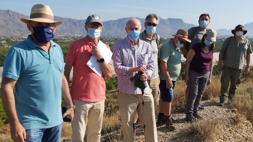 Inician los trabajos previos a la excavación del Yacimiento de Los Saladares