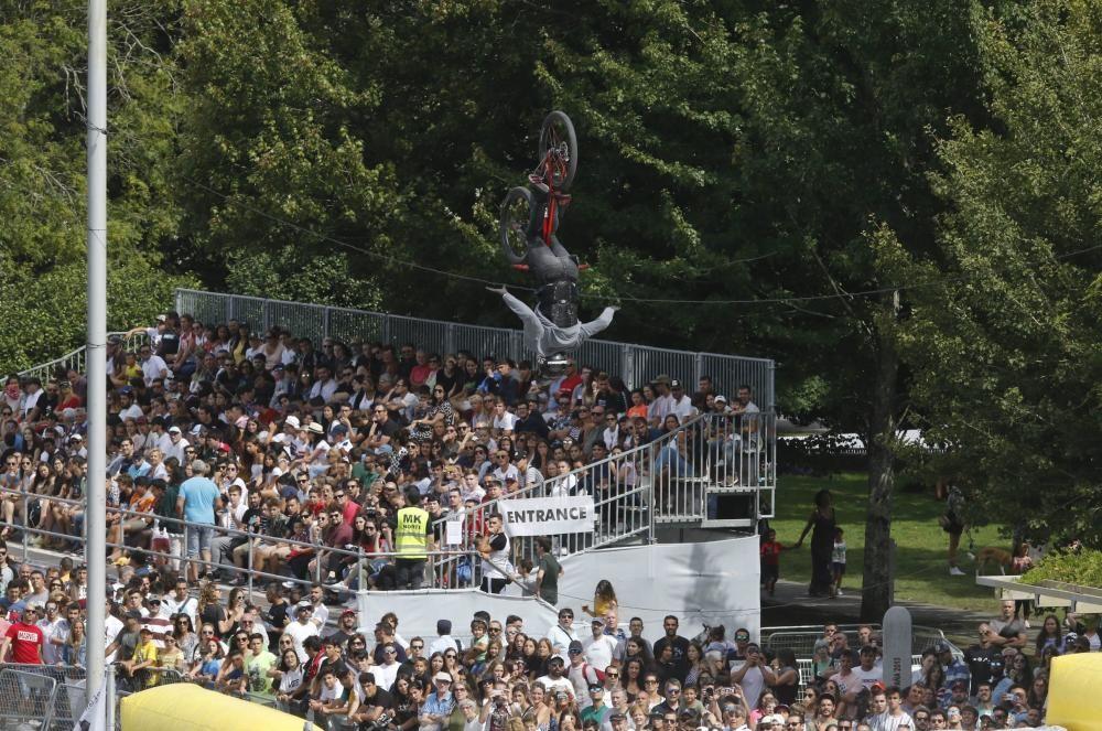 El gran festival de deporte y cultura urbana genera expectación máxima entre los vigueses y los visitantes