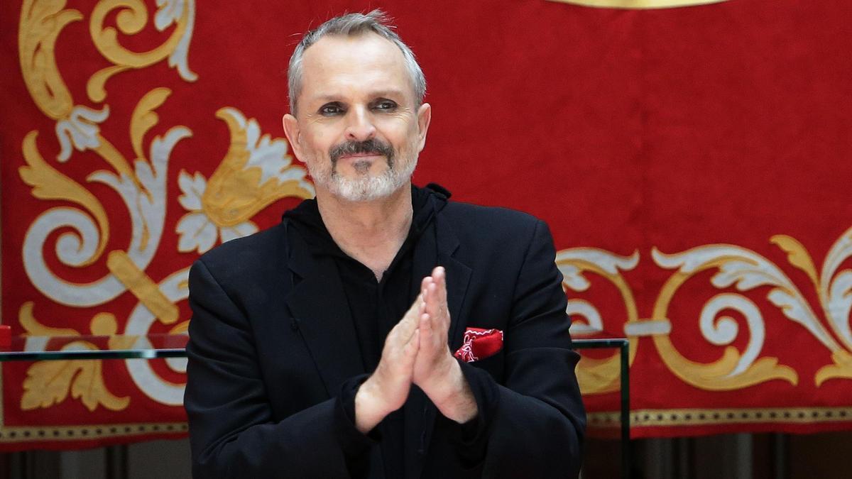 Una imagen de Miguel Bosé.