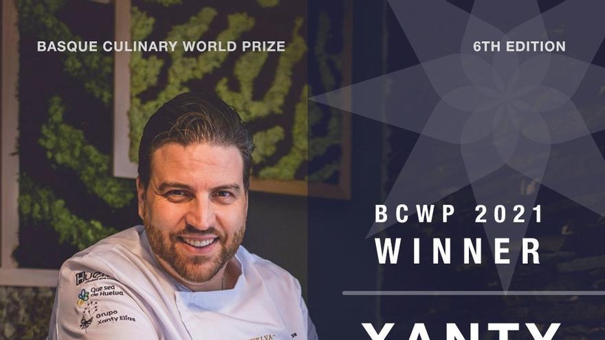 El chef Xanty Elías gana el Basque Culinary World Prize 2021