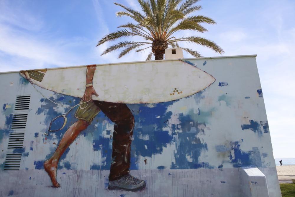 "Aktivitäten entlang der Street-Art-Route ""Color Millor"""