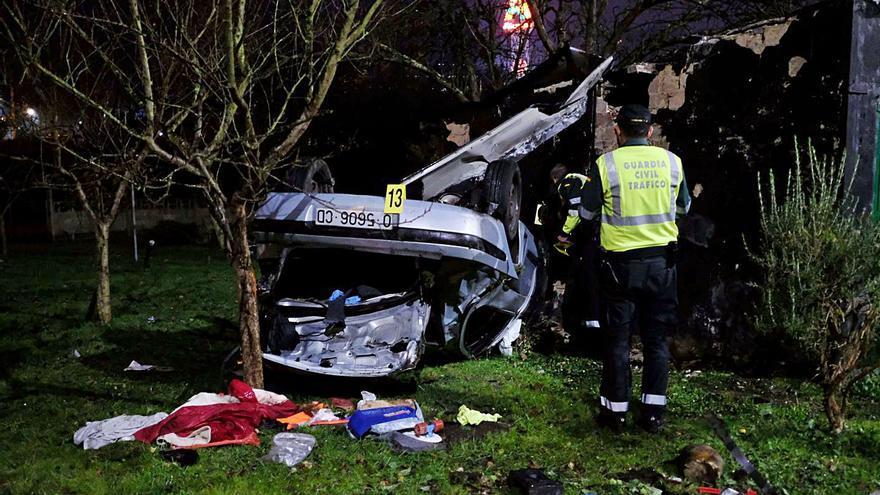 Piden cuatro años de cárcel a un conductor por un accidente con dos muertos en El Entrego