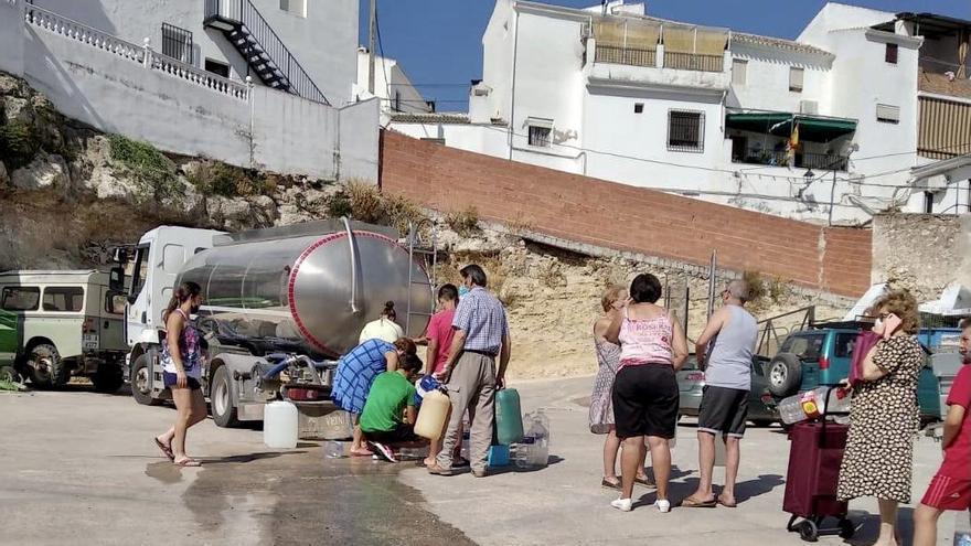 Fuente Tójar se encuentra sin suministro de agua desde el domingo
