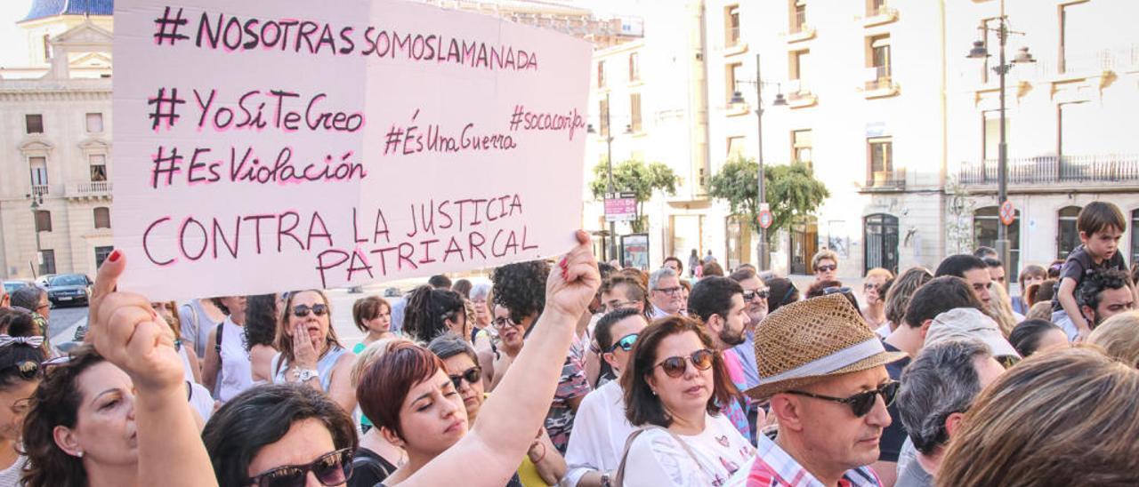 Manifestaciones contra La Manada.