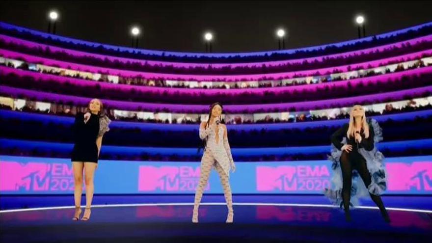 Los coreanos BTS triunfan con cuatro premios MTV EMA