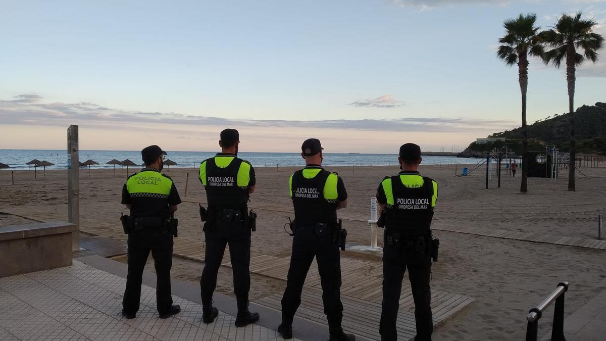 Importante dispositivo policial en Orpesa.