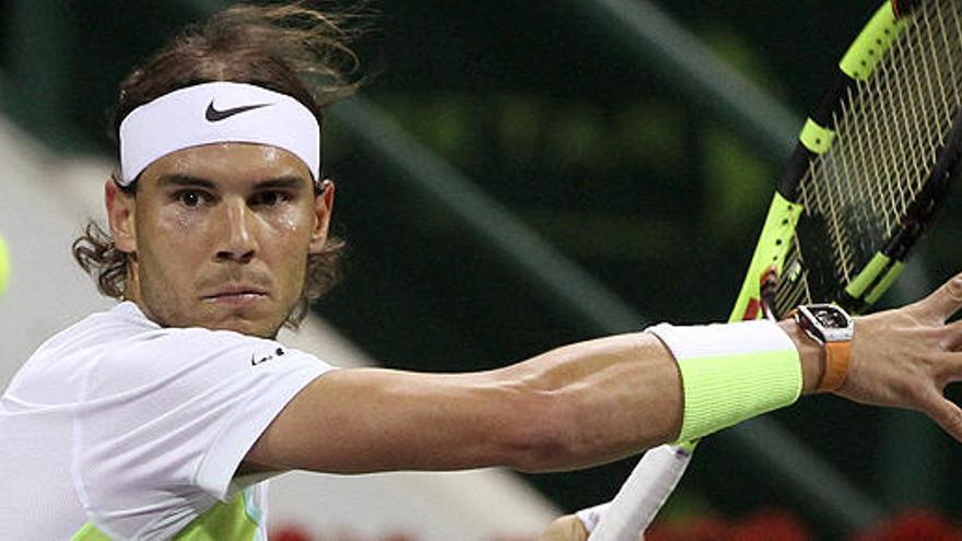 Nadal se mete en los cuartos de Doha tras derrotar a Haase