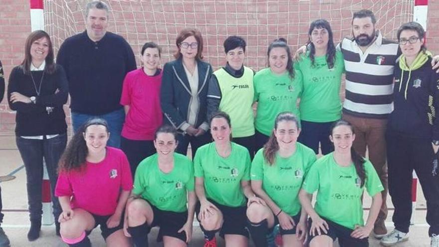 Alaquàs es sede de la selección valenciana femenina