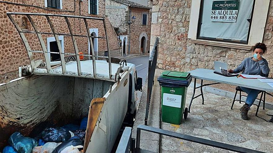 Fornalutx implanta la recogida de basuras puerta a puerta