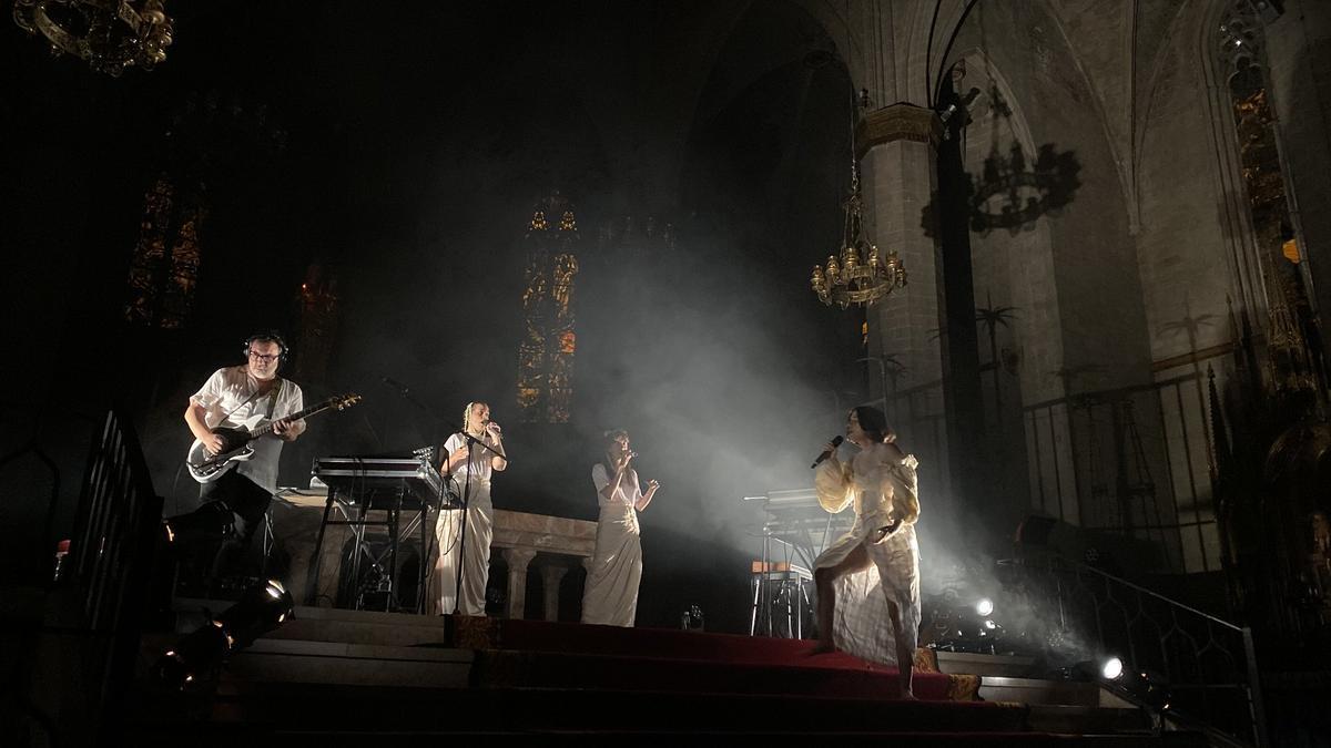 Imatge dun dels concerts del cicle Sons del Camí