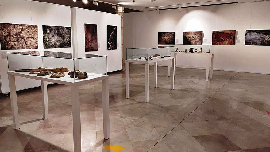 El arte prehistórico llega a La Alhóndiga