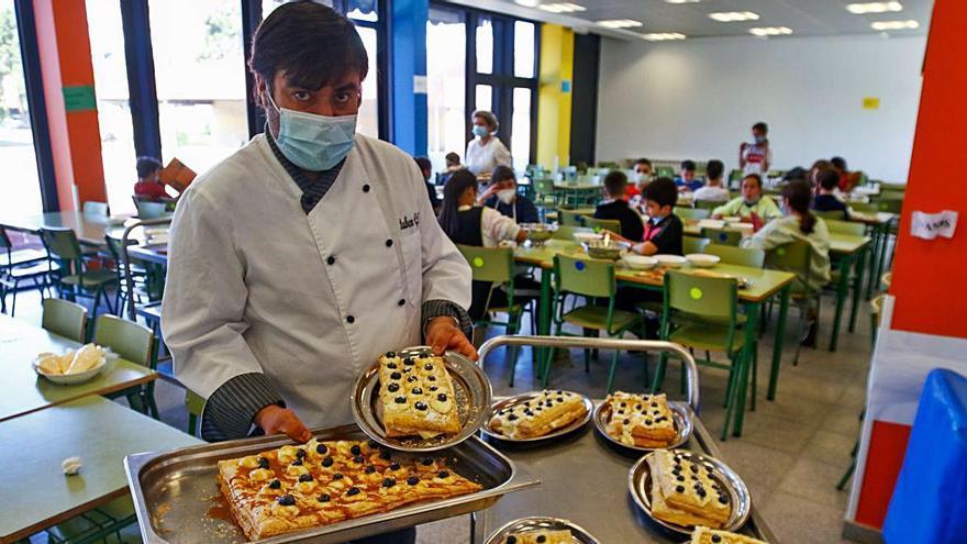 El colegio A Lomba disfruta de las bondades del queso Arzúa-Ulloa