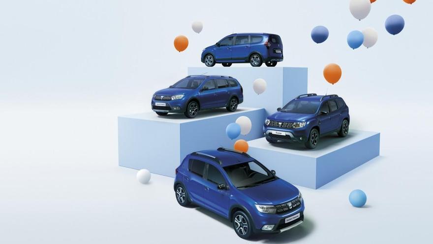 Dacia vuelve a la actividad con el lanzamiento de la serie Aniversario