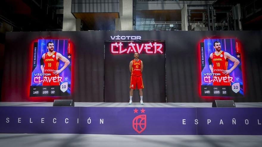 Valencia Basket: Víctor Claver y Xabier López-Arostegui se presentan con España