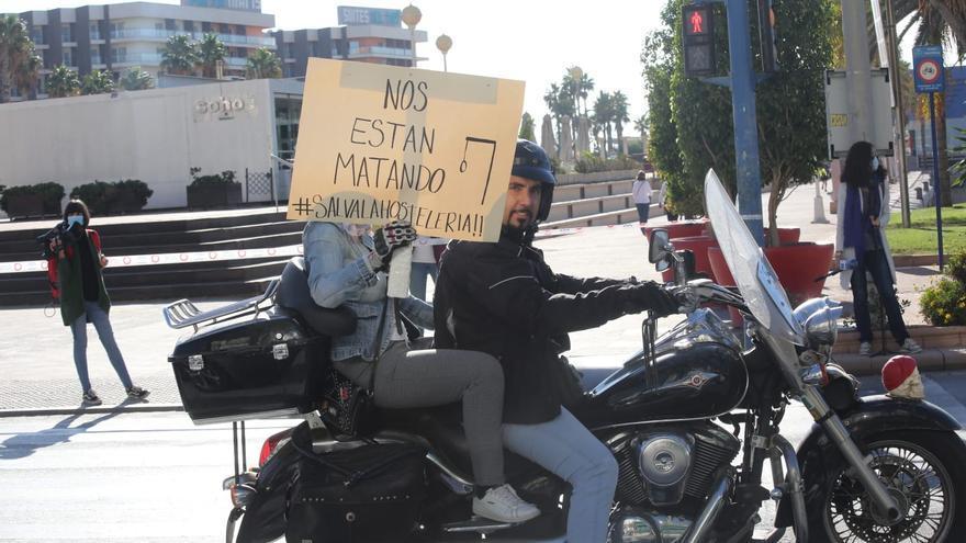 Una protesta de la hostelería colapsa el centro de Alicante