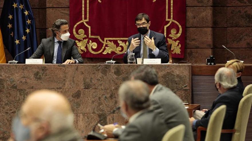 Reunión entre el presidente del Parlamento y el Secretario de Estado para la Unión Europea