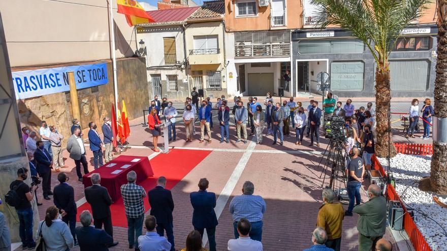 Archena apoya el manifiesto de la alcaldesa en favor del trasvase