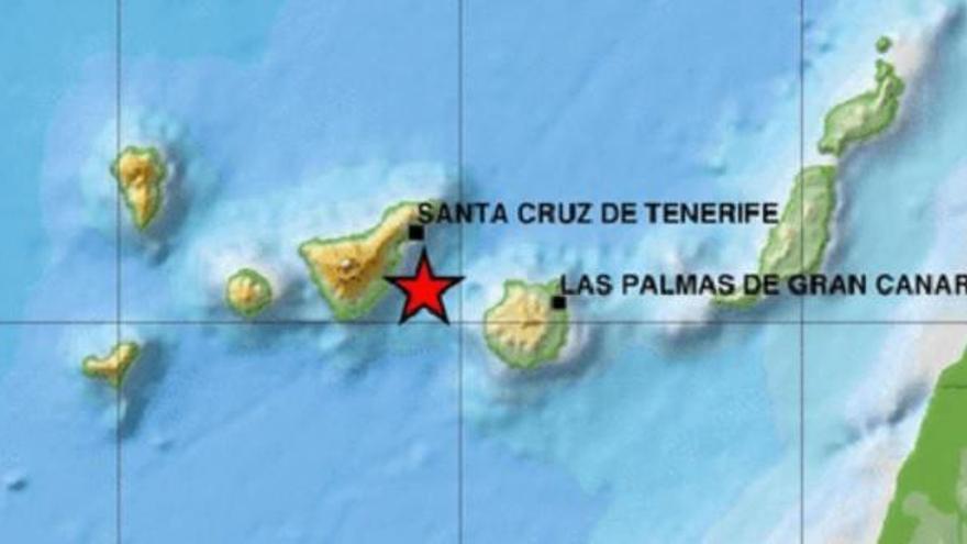 Terremoto en el 'Volcán de Enmedio'