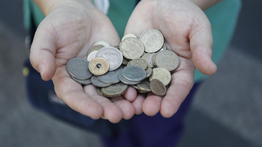 Los españoles aún guardan un total de 1.577 millones de euros en pesetas