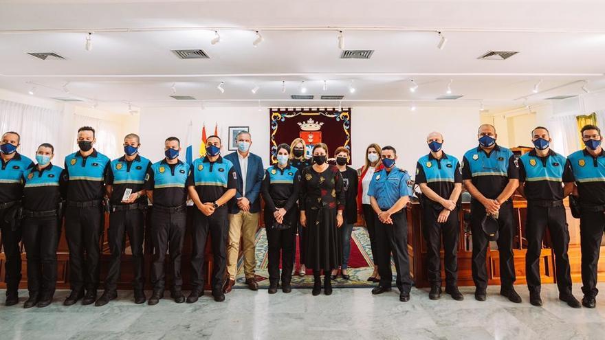 La Policía Local de Arrecife incorpora a tres oficiales