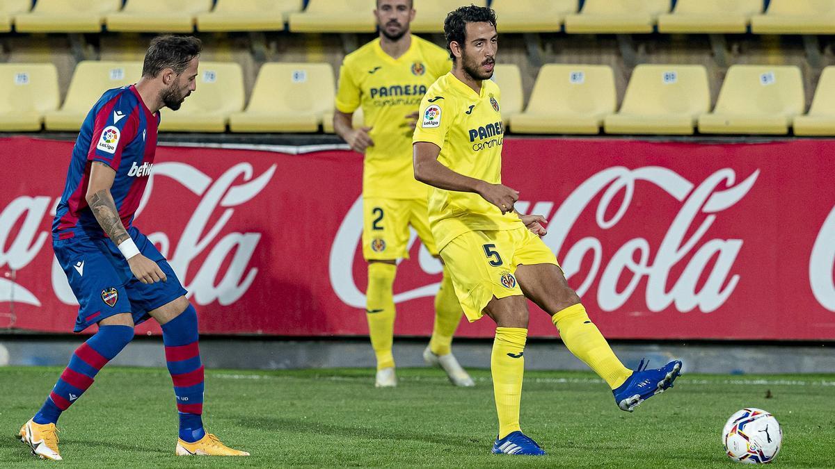 Dani Parejo es el jugador más utilizado esta temporada en el Villarreal.