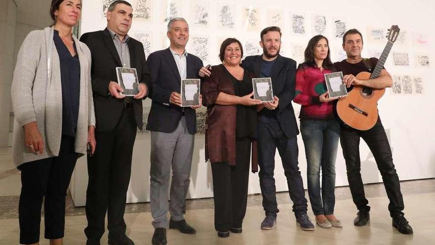 """""""Uxía-O"""" mezcla música y poesía en homenaje a Novoneyra"""