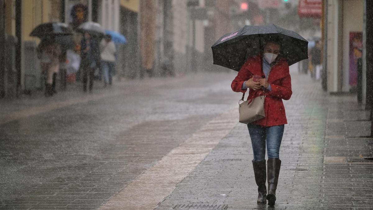 Lluvia en Santa Cruz