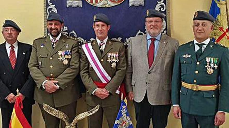 El fiscal de área de Vigo Juan Sagredo, nombrado Caballero Azor por la Brilat