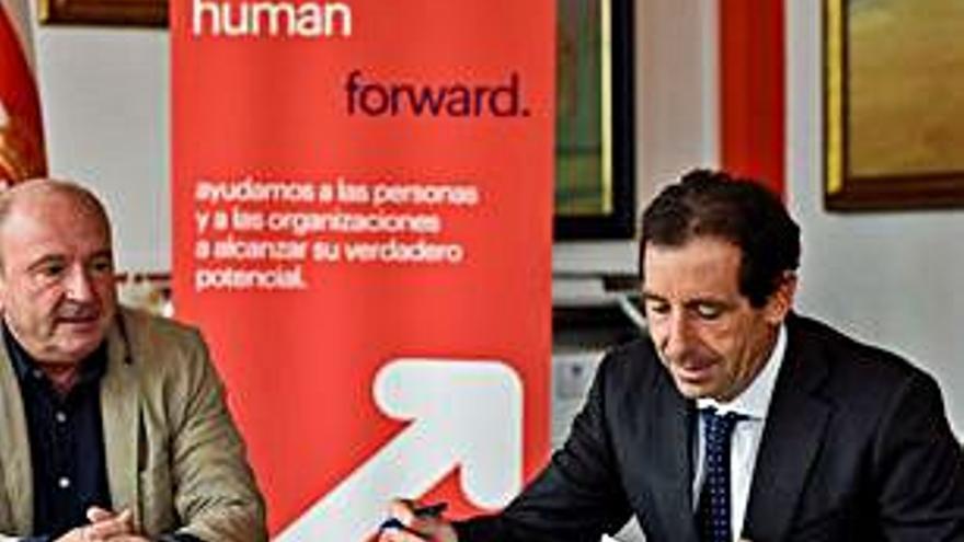 El club firma una colaboración con Randstad