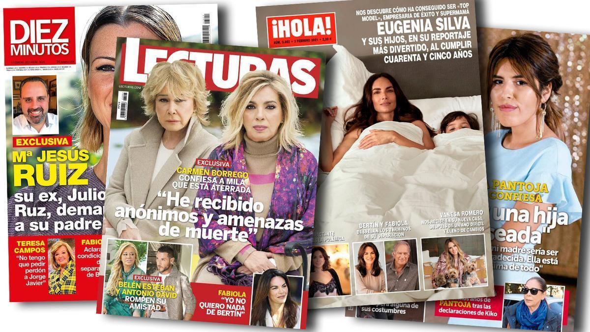 Prensa Rosa: Portadas 27/01/2021