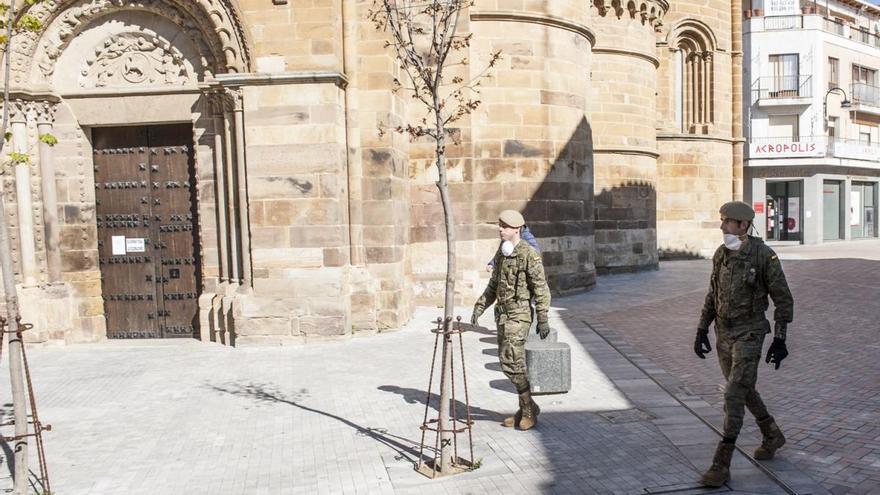 La UME regresa a la provincia para vigilar la frontera hispanolusa