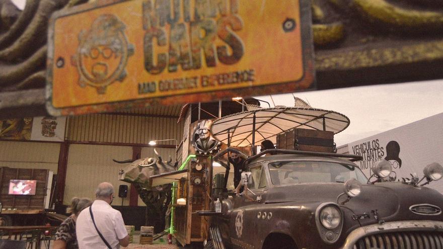 Mutant Cars, restaurante inspirado en la temática de Mad Max