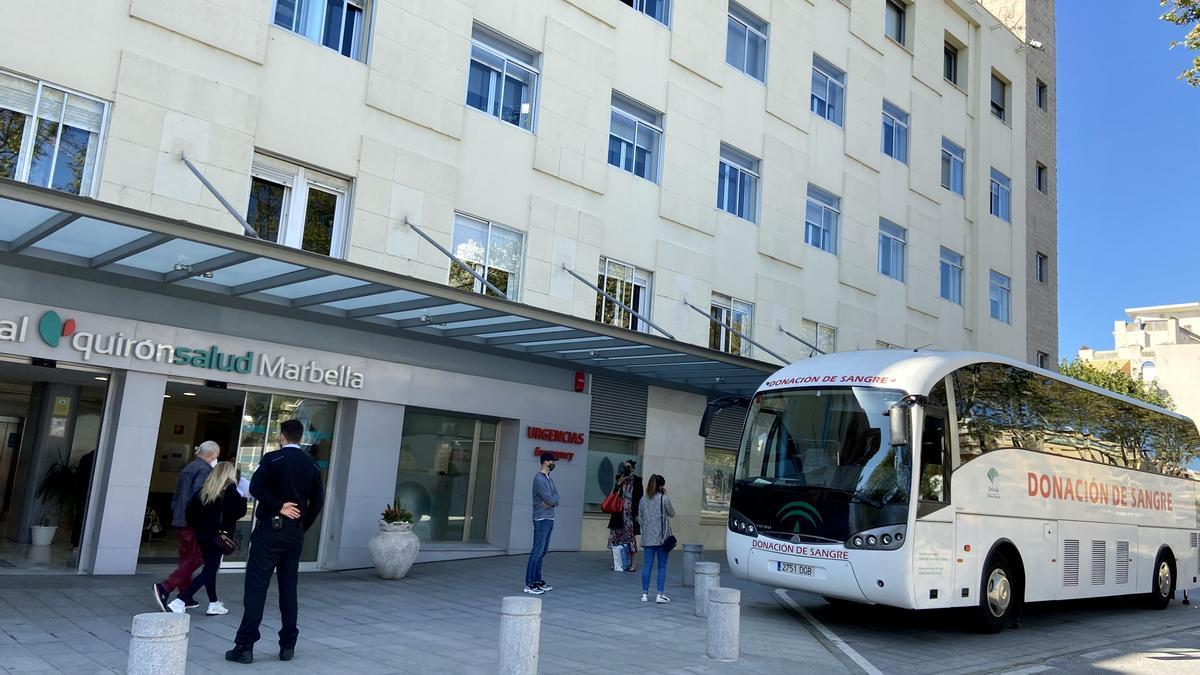 Quirónsalud Marbella acoge una jornada de donación de sangre el próximo 21 de julio