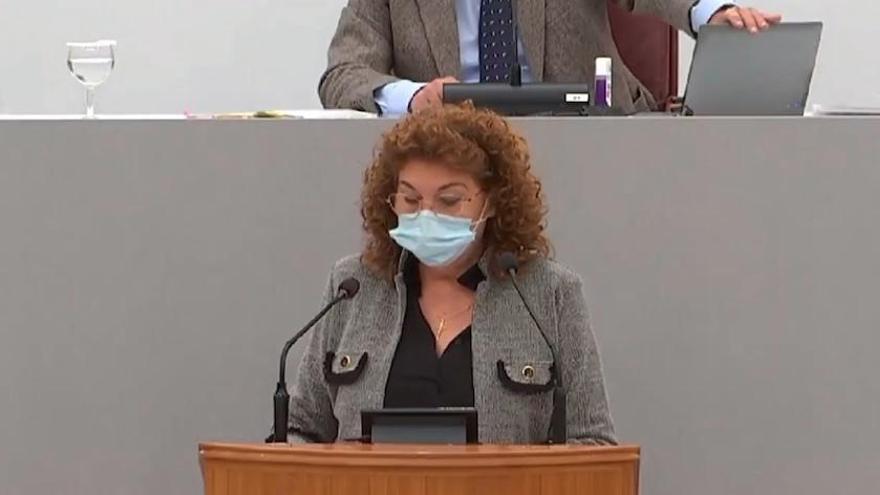 Discurso antivacunas en la Asamblea Regional