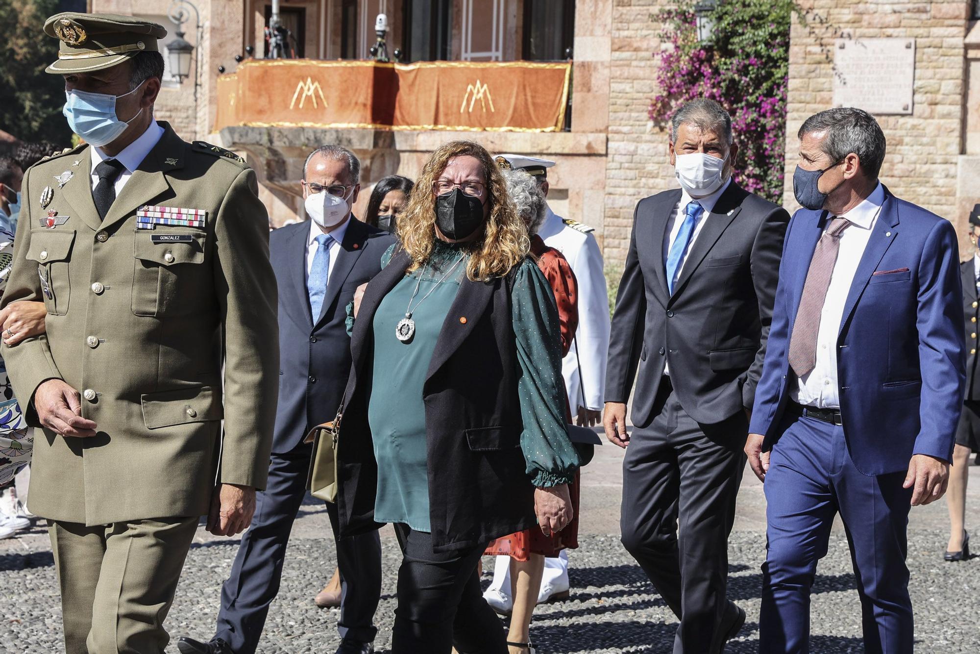 Así se celebró el Día de Asturias en Covadonga